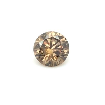 1.23 ct brown round diamond