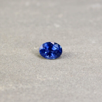 1.89 ct blue oval sapphire