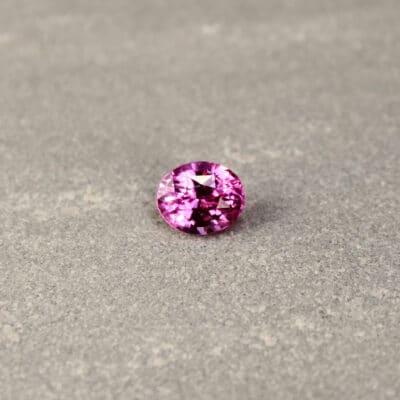 2.20 ct purple oval sapphire