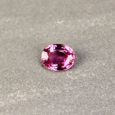 2.25 ct pink oval sapphire