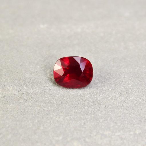 Red Cushion Ruby