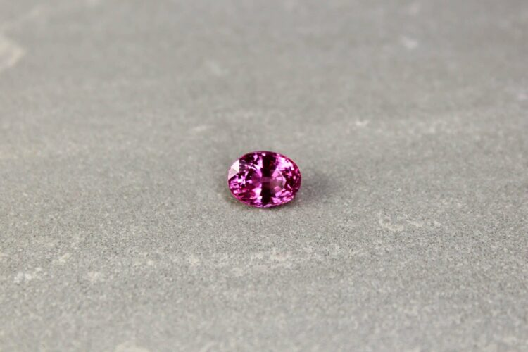 3.04 ct pink oval sapphire