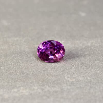 3.07 ct pink oval sapphire