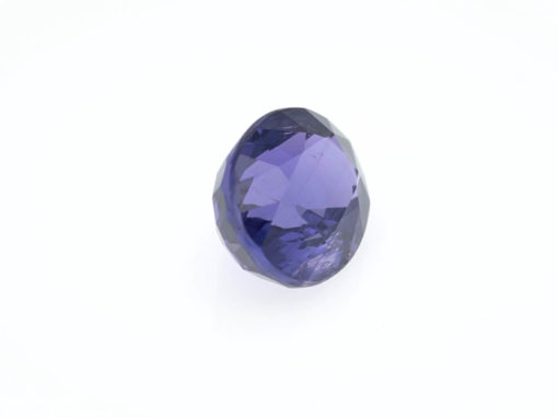 3.05 ct blue/violet oval sapphire