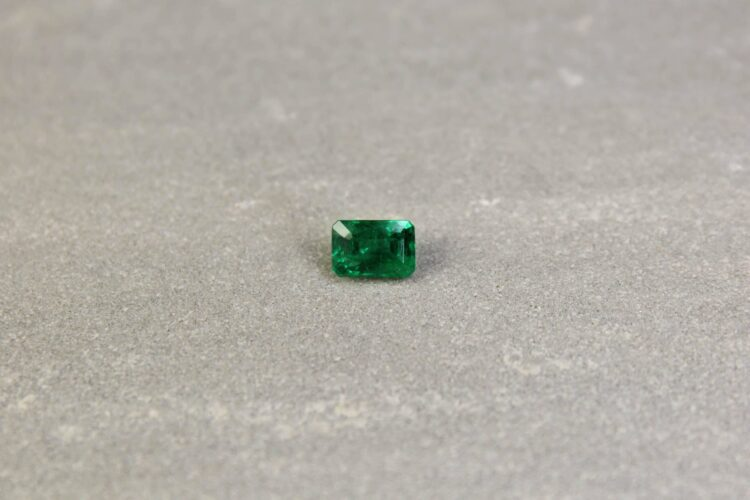 1.03 ct octagon green emerald