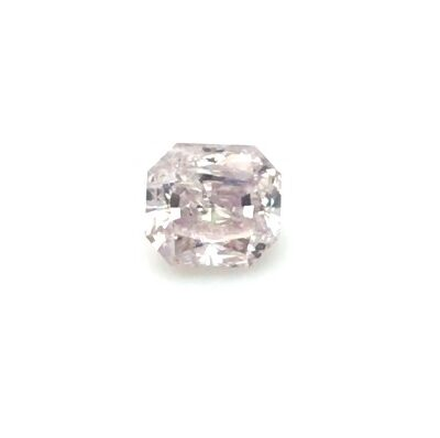 1.20 ct brownish pink radiant diamond