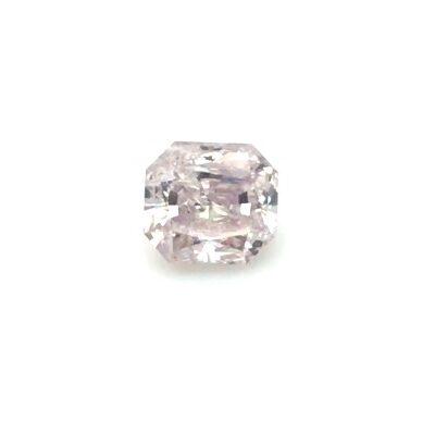 1.20 ct brownish pink radiant diamond