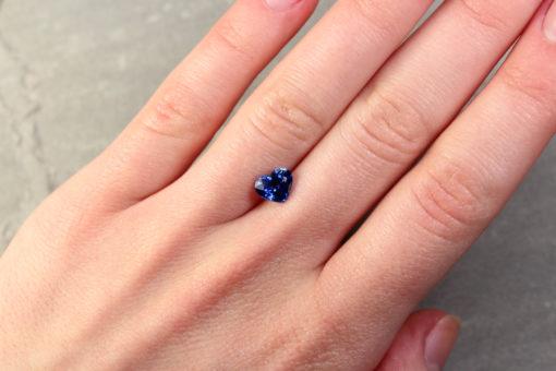 Blue Heart Shape Sapphire
