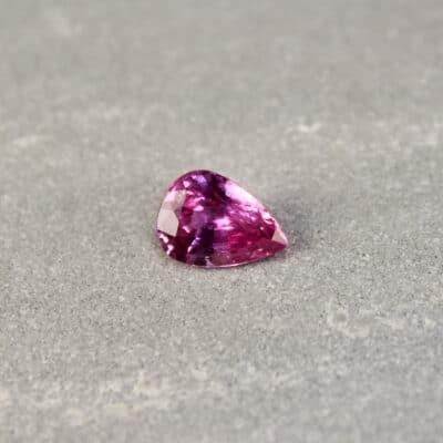 2.01 ct pink pear shape sapphire