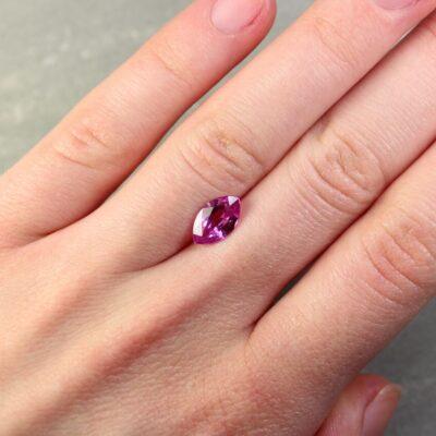 2.06 pink marquise sapphire
