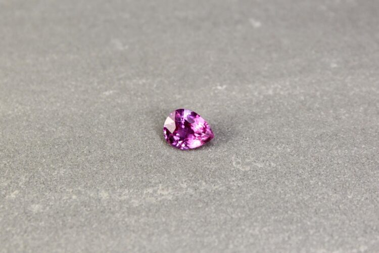 2.07 ct pink pear sapphire