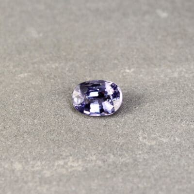 2.16 ct blue oval sapphire