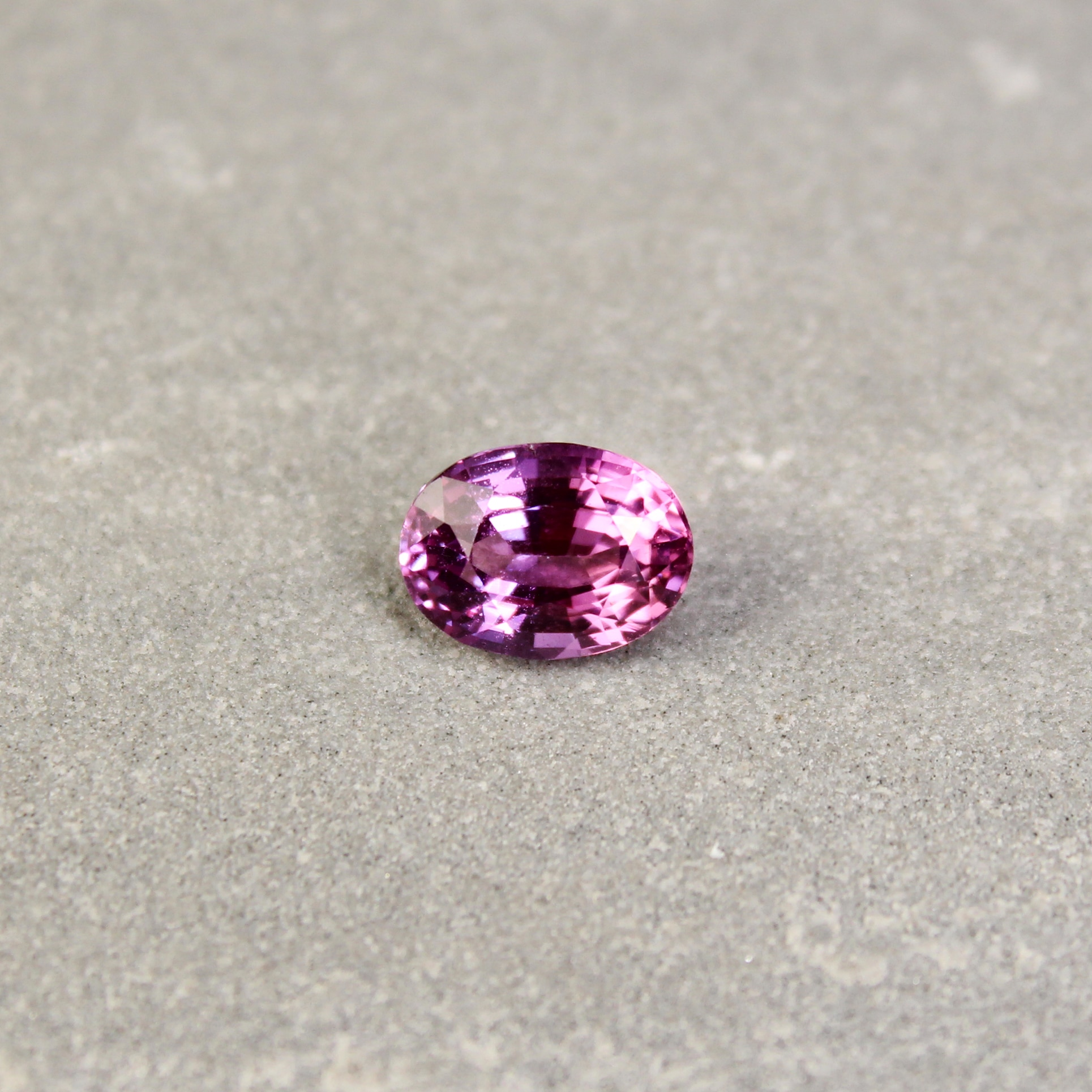 2.19 ct pink oval sapphire