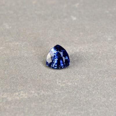 Blue Trilliant Sapphire