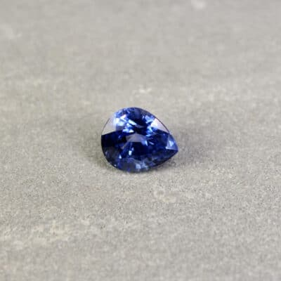 blue pear sapphire