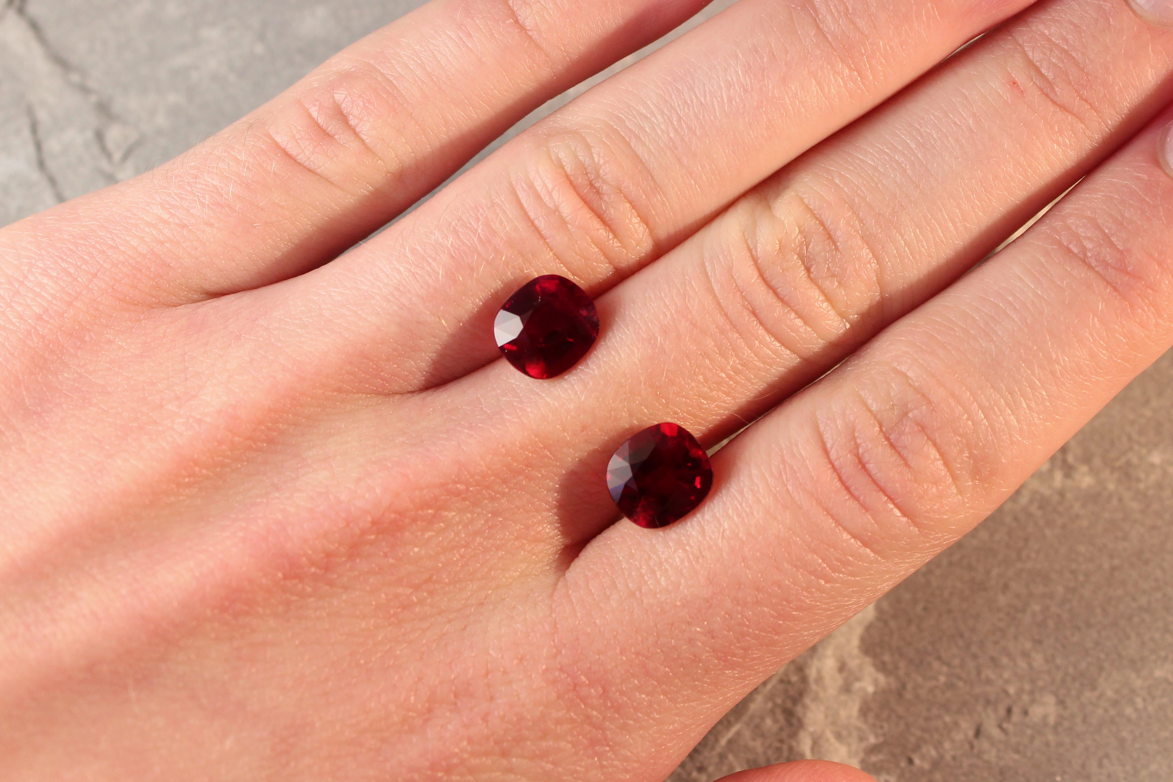red rubies pair