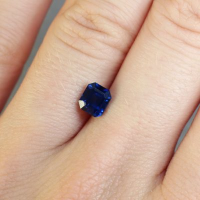 Beautiful blue colour sapphire Haruni Fine Gems
