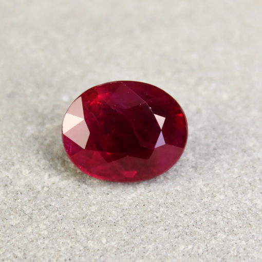 deep red ruby Haruni Fine Gems