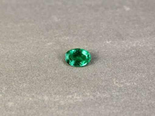 1.19 ct bluish green oval emerald