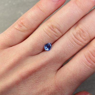 Blue Pear Shape Sapphire