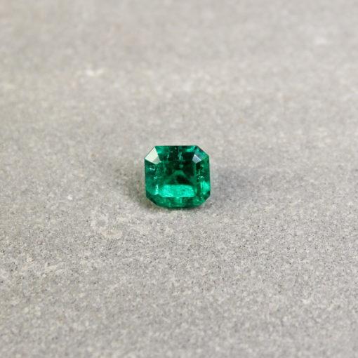 Green Octagon Emerald