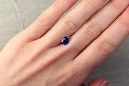 Pear Shape Blue Sapphire