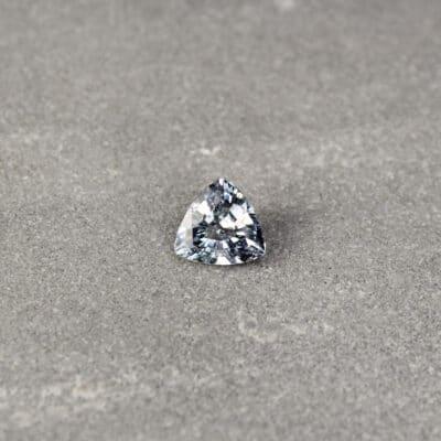 1.50 ct trilliant blue sapphire