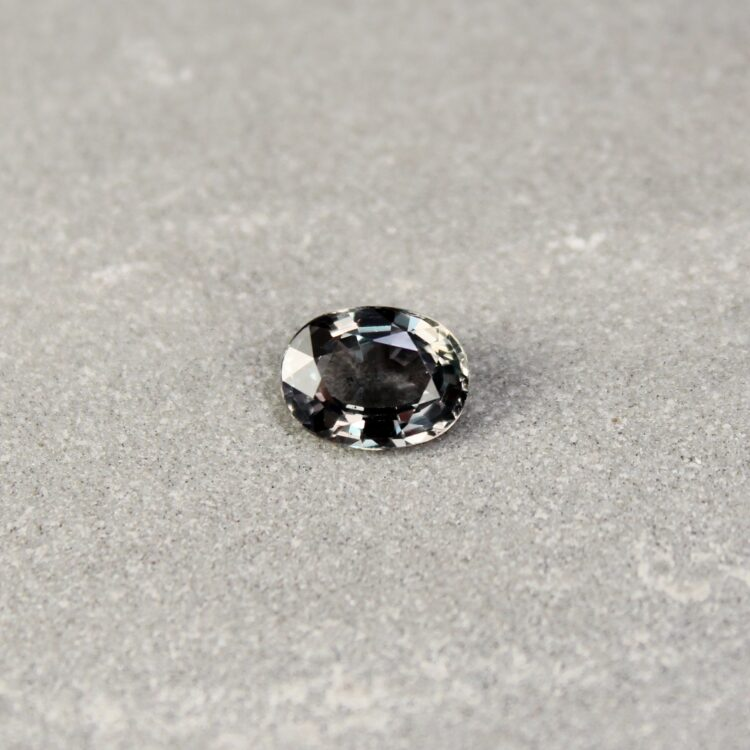 1.68 ct oval green sapphire