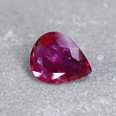 Pear Shape Ruby