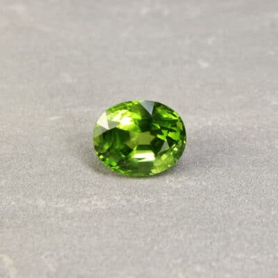 17.19 ct oval green peridot