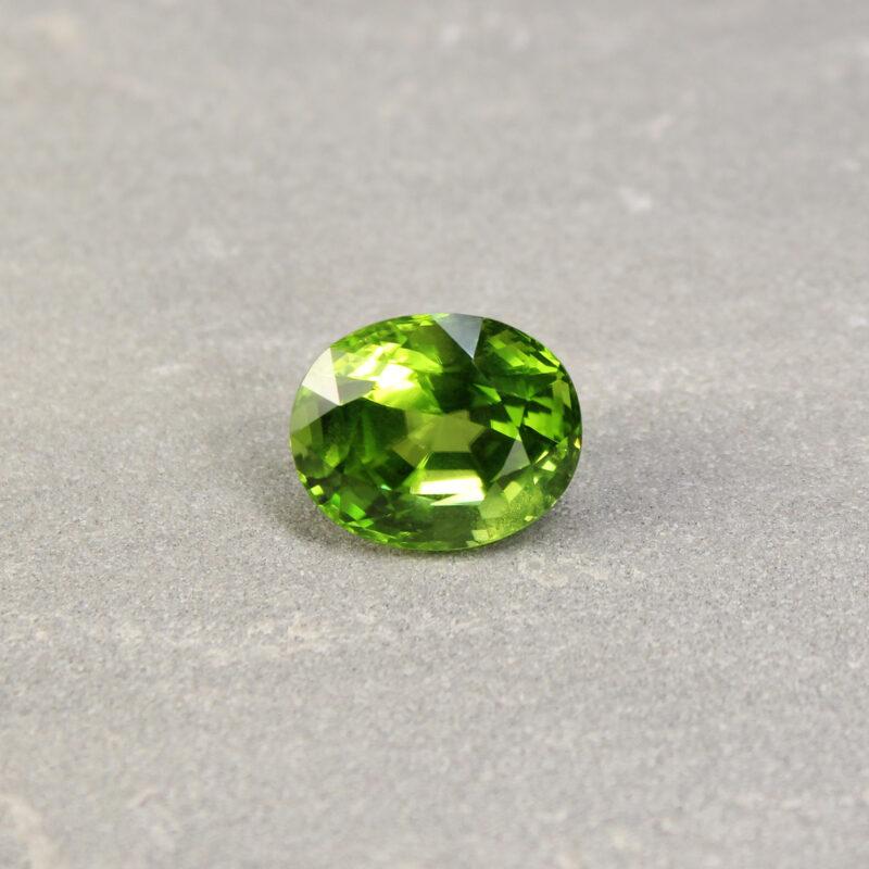 17.19 ct oval green peridot