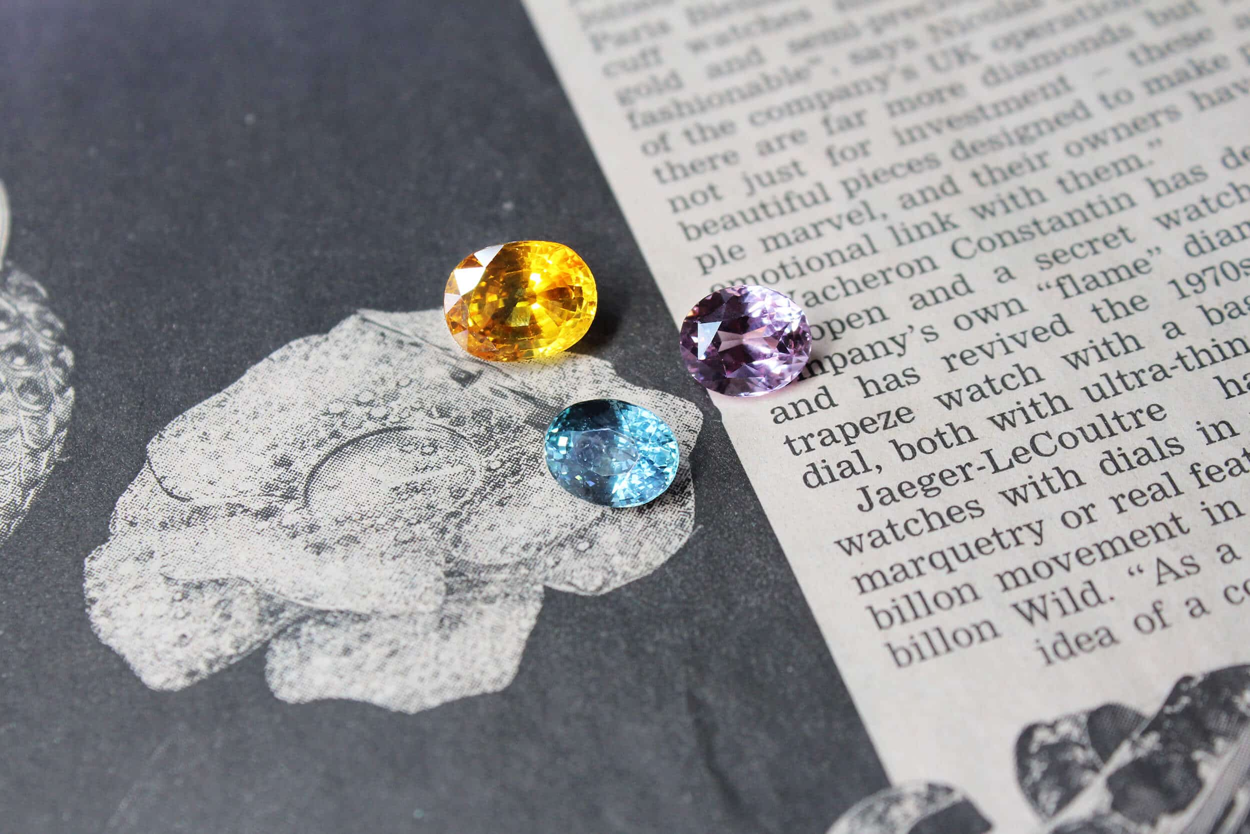 ebook materials grading gemstones, diamond cut price list and colour wheel of colour gems