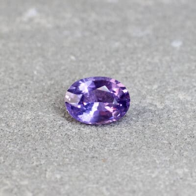 1.42 ct oval violet sapphire