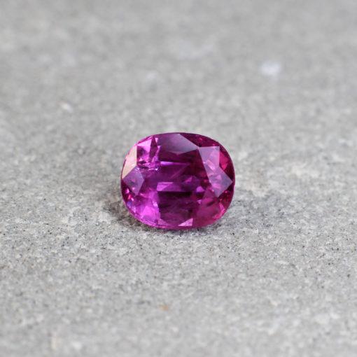 sapphire purplish pink Haruni Fine gems