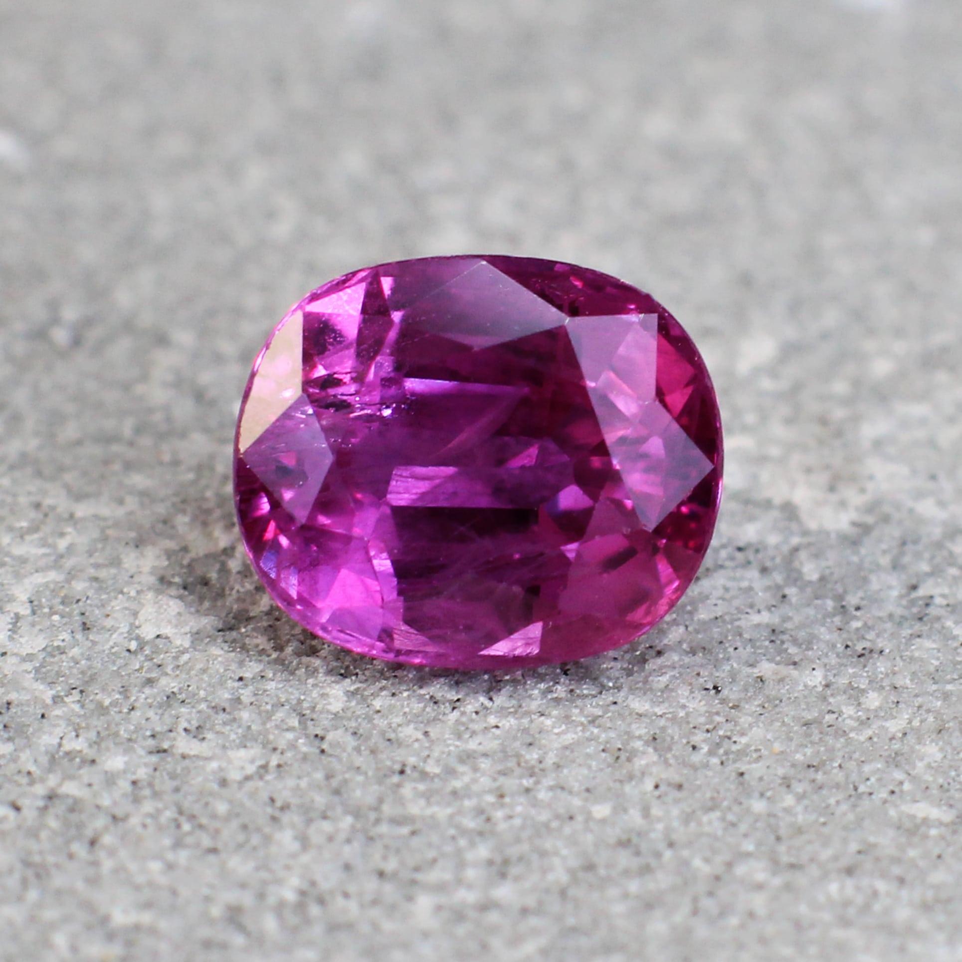sapphires purplish pink Haruni Fine gems