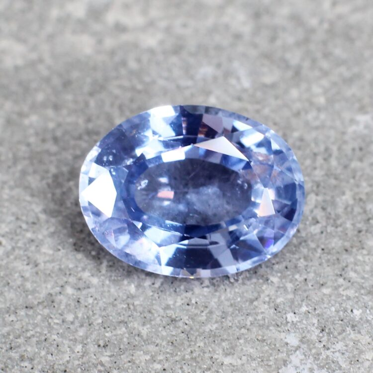 2.32 ct oval blue sapphire