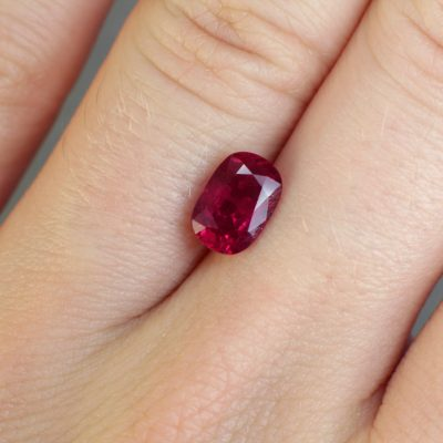 red beautiful ruby Haruni Fine Gems