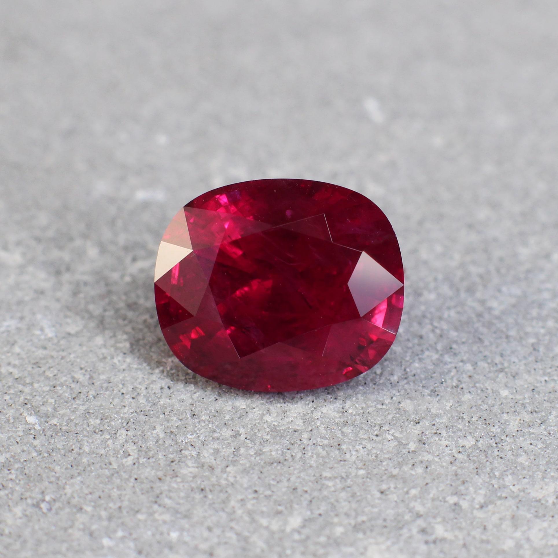Red Ruby Haruni Fine Gems