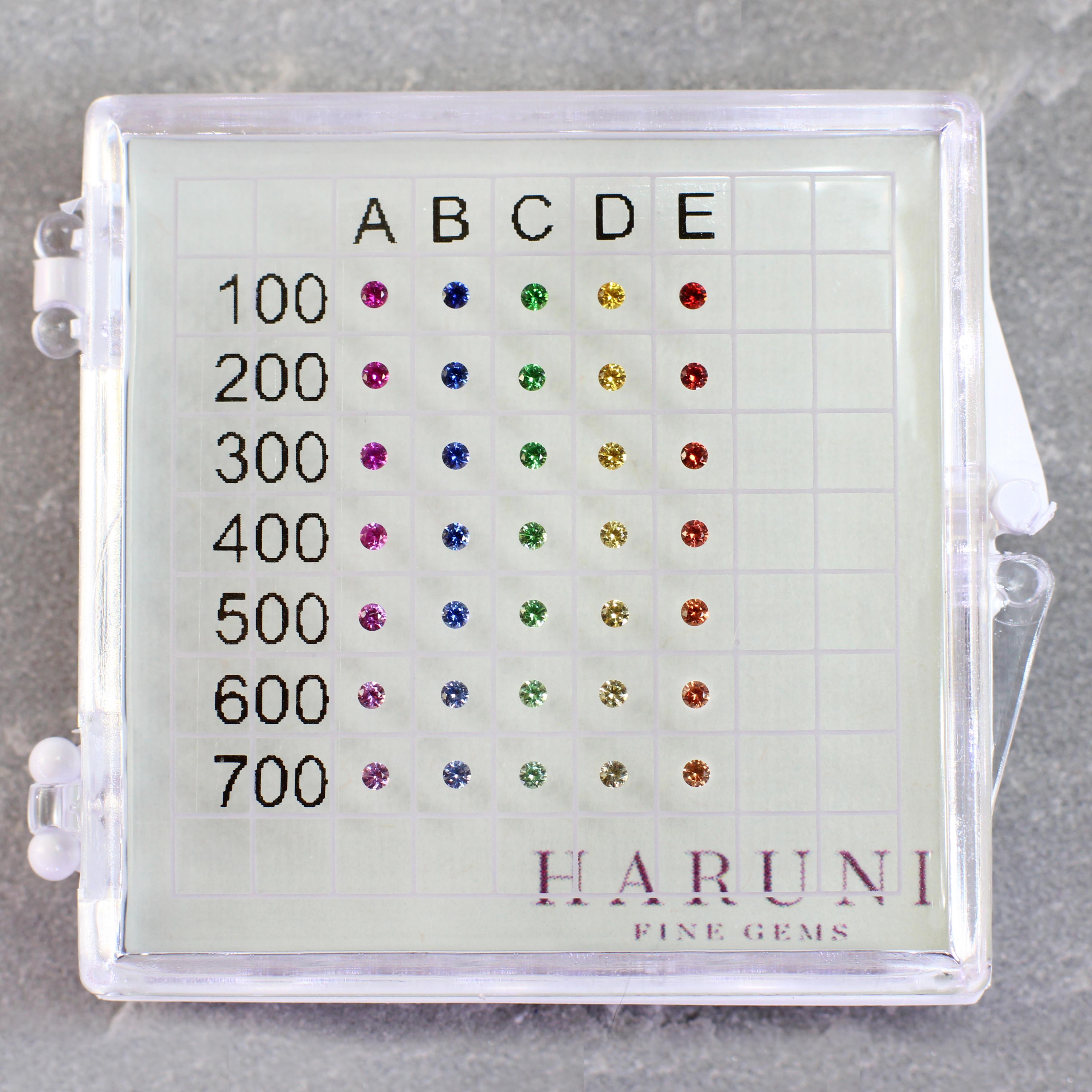 Colour Gem Master Card haruni fine gems