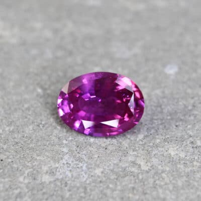 1.71 ct pink oval sapphire