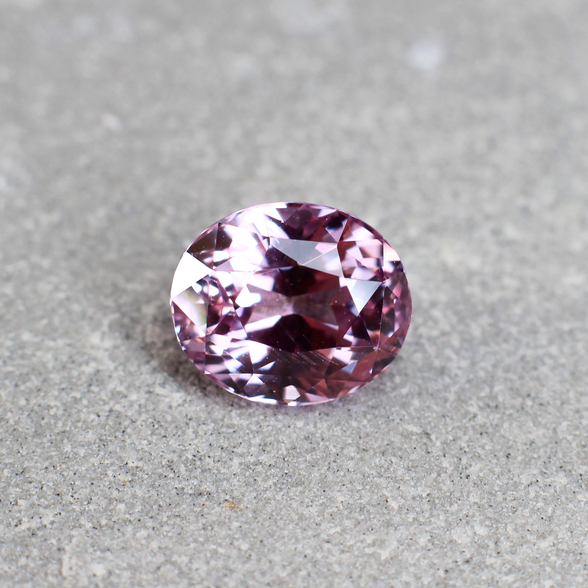3.75 ct pink oval sapphire