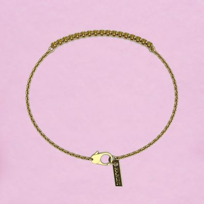 blossom bracelet – yellow sapphire and 18k yellow gold