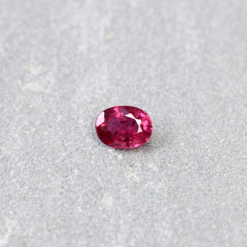 1.01 ct red oval ruby