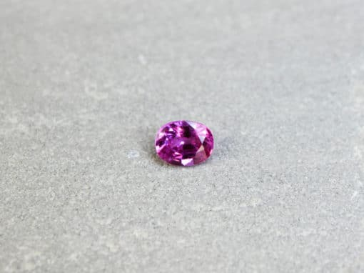 1.04 ct pink oval sapphire