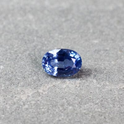 1.13 ct blue oval sapphire