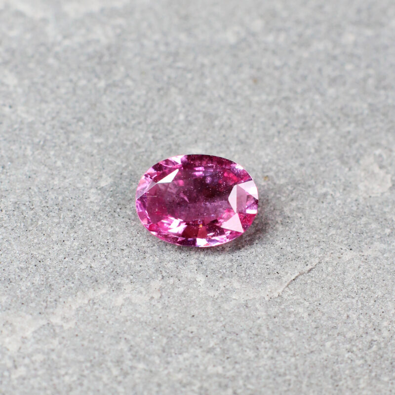 1.35 ct pink oval sapphire
