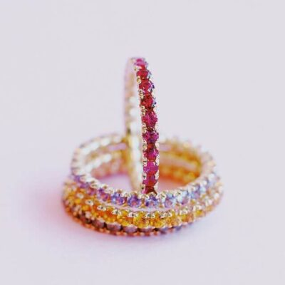 blossom eternity ring