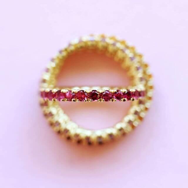 blossom eternity ring