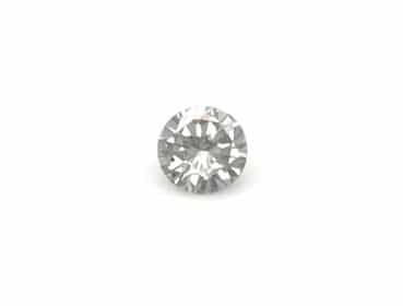 0.36ct round fancy grey diamond
