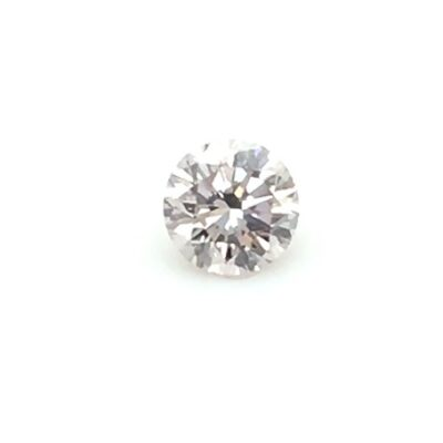 0.41ct light purple round diamond